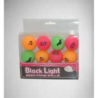 Black Light Beer Pong Balls 12-Pack