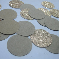 Kraft Paper Bronze Glitter Confetti Mix Metallic Confetti Glitter Confetti Gold Glitter Brown Paper Confetti Wedding Table Wedding Decor