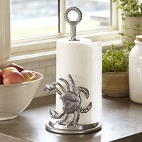 CRAB PAPER TOWEL HOLDER