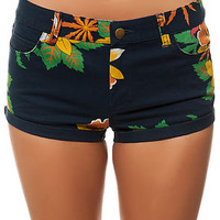 The Hard Road Shorts in Navy