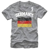 FIFA 2014 World Cup Soccer - Germany Flag - T-Shirt (XX-Large)