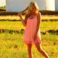 SWEET TEA PARTY DRESS IN BLUSH