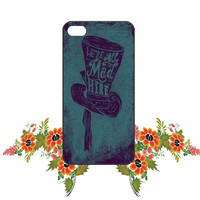 Alice in wonderland iPhone 4/4S / 5/ 5s/ 5c case, Samsung Galaxy S3/ S4 / S5 case, iPod Touch 4 / 5 case
