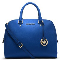 MICHAEL Michael Kors Jet Set Travel Large Satchel Sapphire - MICHAEL Michael Kors Designer Handbags