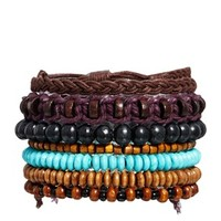 ASOS Bracelet Pack With Mixed Beads