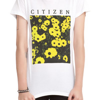 Citizen Flowers Girls T-Shirt