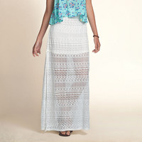 Hollister Lace Maxi Skirt