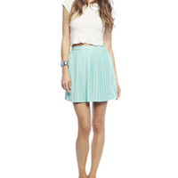Pleated Mini Skirt | Wet Seal
