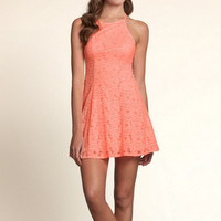 Dana Strands Skater Dress