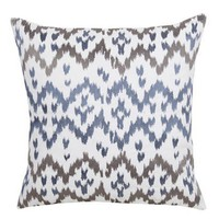 Ikat Deep Sea Pillow - New Arrivals