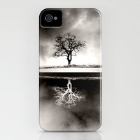 Solitary Reflection iPhone Case by Ally Coxon | Society6