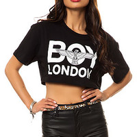 The Crop Boy Tee