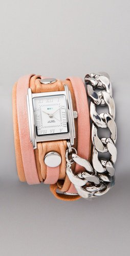 La Mer Collections Malibu Chain Wrap Watch | SHOPBOP