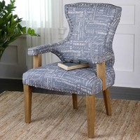 Uttermost Citographie Armchair - Gray | www.hayneedle.com