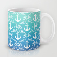 Nautical Knots Ombre Mug by Jacqueline Maldonado | Society6