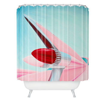 Mandy Hazell 1959 Cadillac Shower Curtain