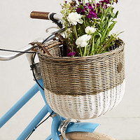 Dip-Dyed Bike Basket