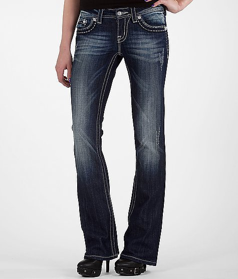 Miss Me Metallic Boot Stretch Jean