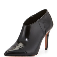 Alice + Olivia Dex Leather Ankle Boot