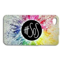 Cute Colorful Bright 5 SOS Five Seconds of Summer Case iPhone 4 4s iPhone 5 5c