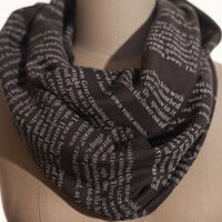 Dorian Gray Book Scarf