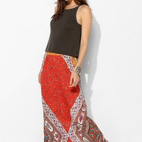 Staring At Stars Straight-Cut Boho-Print Maxi Skirt - Urban Outfitters