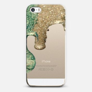 LIQUID GOLD II Crystal Clear Case iPhone iPhone 5s case by Monika Strigel | Casetagram***Get 20 % on Memorials Day with Code : MAY2014