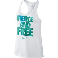 Nike Women's Fierce and Free Running Tank Top