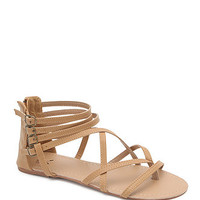 LA Hearts Super Strappy Gladiator Sandals - Womens Sandals - B