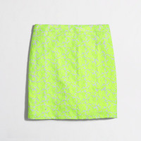 Factory embroidered floral mini - Mini/A-Line - FactoryWomen's Skirts - J.Crew Factory