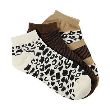 Nurse Mates Women's 3 Pack Anklet Socks