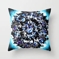 BHAYA Throw Pillow by Chrisb Marquez