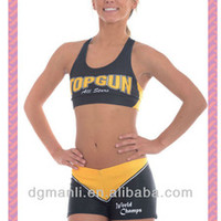 Source Comfortable sports bra,sublimation cheer uniform,practice wear on m.alibaba.com
