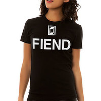 The FIEND Tee in Black