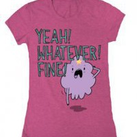 Yeah! Whatever! Fine! T-Shirt - Adventure Time with Finn & Jake T-Shirts - Online Store on District Lines