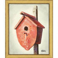 Windsor Vanguard Bird House III by Unknown - VC2174C30x40 - All Wall Art - Wall Art & Coverings - Decor