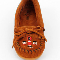 Minnetonka Thunderbird II Moccasins in Brown :: tobi