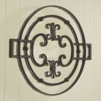 Bago Luma Round Bristol Grille Wall Accent - WGG140 - All Wall Art - Wall Art & Coverings - Decor