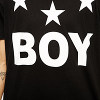 Boy London T-Shirt with Stars Logo -