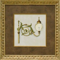 Phoenix Galleries Gas Lamp I Framed Print - HP676 - All Wall Art - Wall Art & Coverings - Decor