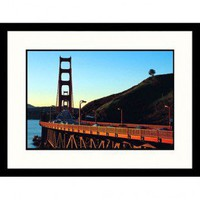 Great American Picture Golden Gate Bridge in San Francisco Framed Photograph - Robin Allen - IS55117 - All Wall Art - Wall Art & Coverings - Decor