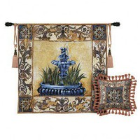 Fine Art Tapestries Clear Waters Tapestry - Liz Jardine - 2205-WH - All Wall Art - Wall Art & Coverings - Decor