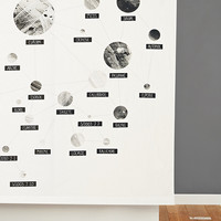 64 Moons of Jupiter Shower Curtain - Urban Outfitters