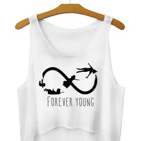 forever young crop top