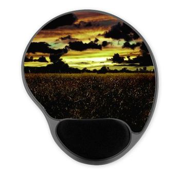 Dark Meadow Landscape Mousepad