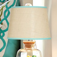 Raffia Color Pop Lamp Shade