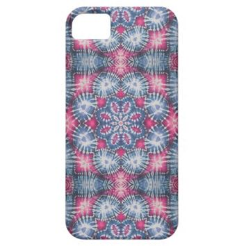 Tie Dye Blue iPhone 5/5S Cases