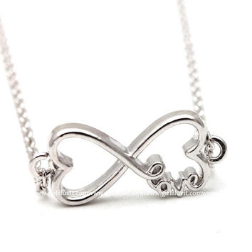 girlsluv.it - heart and infinity bracelet