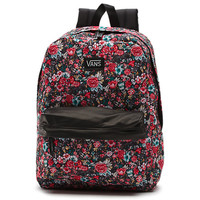 Vans Floral Deana II Backpack (Multi Floral Black/True White)