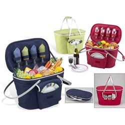 J. Covington Home - Collapsible Picnic Basket